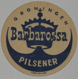 Barbarossa viltje blauw